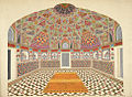 Interior of the mausoleum of Itimad-al-Daula, Agra, a watercolor, c.1810.jpg