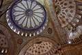 Interior view of Sultan Ahmed Mosque Dome, Istanbul, Turkey (Ank Kumar) 01.jpg