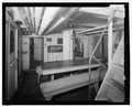 Interior view of crew's mess looking aft. - Lightship No. 83, South Lake Union Pier, Seattle, King County, WA HAER WA-175-19.tif