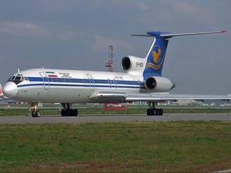 1993 Tehran mid-air collision - Image: Iran Airtour Tu 154M EP MCR SVO 2008 9 23