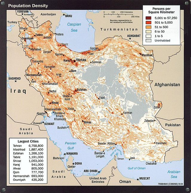 List of largest cities of Iran Wikiwand
