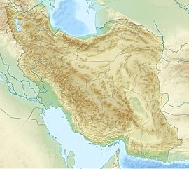 Tališki masiv is located in Iran