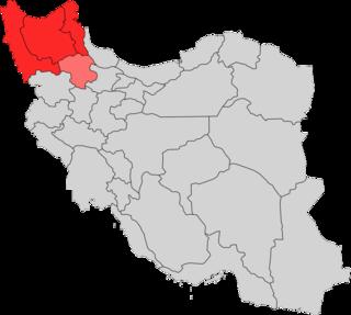 Azerbaijan (Iran) region in northwestern Iran
