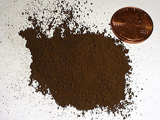 Iron oxide - Image: Iron Oxide Pigment USGOV