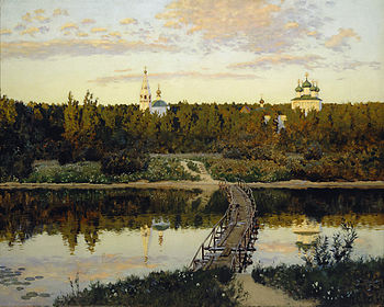 Isaak Levitan Tihaya obitel