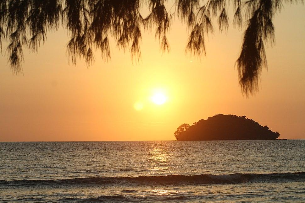 Island off Otres Beach Sihanoukville, Cambodia