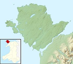 Holyhead Mountain is located in Anglesey