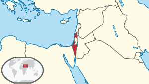 Israel in its region (pre 1967 territory).svg
