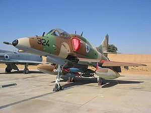 A McDonnell Douglas A-4N Skyhawk of the Israel...