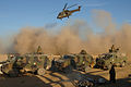 Italian Army convoy from the PRT heads for Farsi, Afghanistan MOD 45147205.jpg
