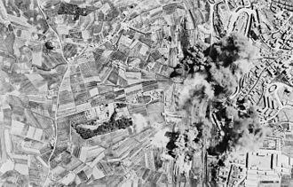 Timeline of Siena - Allied bombing of Nazi railyard, Siena, c. 1944