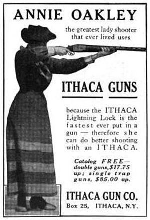 Ithaca, New York - Ithaca Gun Co. - Annie Oakley gun, 1916