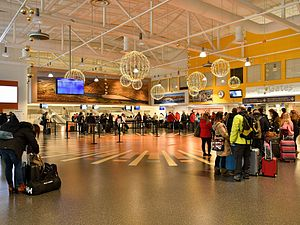 Ivalo Airport -