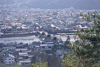 Iwakuni City in Chūgoku, Japan