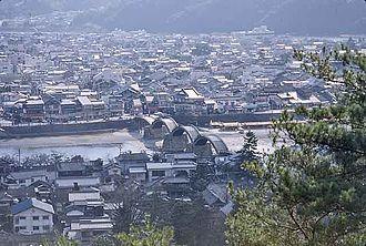 Iwakuni - Iwakuni, including the Kintai Bridge