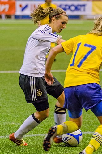 Annabel Jäger - Jäger playing for the German youth team in 2012