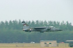 J-22 Orao in low level flight, Kecskemét, 2007.jpg