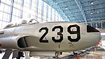 JASDF T-33A(71-5239) nose section right front view at Hamamatsu Air Base Publication Center November 24, 2014 02.jpg