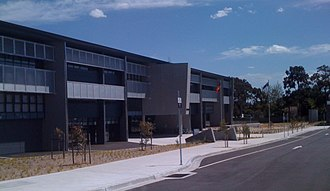 John Monash Science School - Main entrance to the school