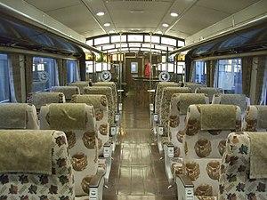 A-Train (JR Kyushu) - Image: JR Kyushu A Train inside 01