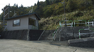 Kami-Kuwanagawa Station Railway station in Iiyama, Nagano Prefecture, Japan