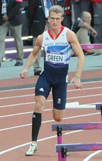 Jack Green (athlete) British sprinter
