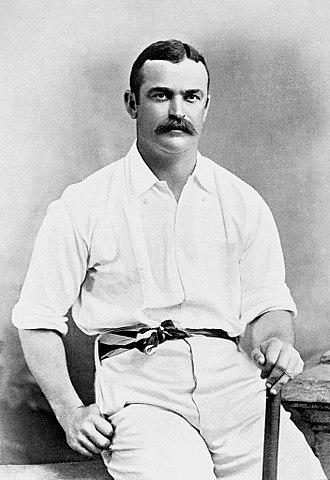 Jack Lyons (cricketer) - Image: Jack Lyons c 1895