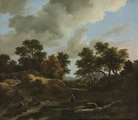Jacob van Ruisdael - Wooded and Hilly Landscape - 1963.575 - Cleveland Museum of Art.tiff