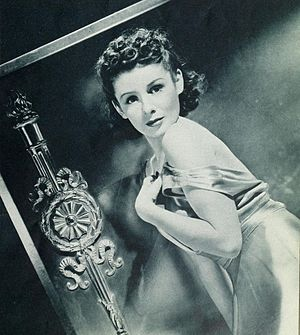 Jacqueline Laurent - Laurent as she was pictured in Photoplay magazine's August 1938 issue.