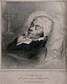 Jacques Delille lying in state in the Collège de France in P Wellcome V0042452.jpg