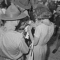 Jamboree 1963 te Marathon Griekenland Wandeling door kamp, Bestanddeelnr 915-4226.jpg