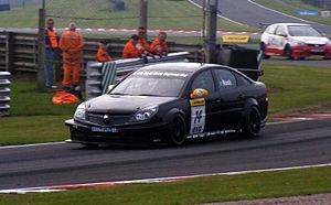 James Nash (racing driver) - Nash competing in the 2010 British Touring Car Championship.
