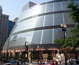 Government of Illinois - The James R. Thompson Center in the Loop