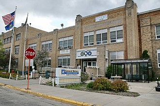 Janesville Assembly Plant - North entrance of Janesville Assembly Plant in 2009