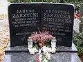 Janusz Zarzycki - Krystyna Zarzycka-Zielińska - Cmentarz Wojskowy na Powązkach (190).JPG