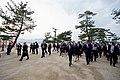 Japanese Foreign Minister Kishida Leads Secretary Kerry on a Walking Tour of the walking tour of the Itsukishima Shrine (26252710952).jpg
