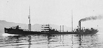 Notoro-class oiler - Tsurumi in 1922