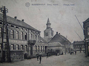 Battle of Buggenhout - View of Buggenhout in the 1920s