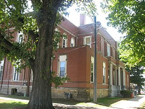 Newton, Illinois - Jasper County Courthouse