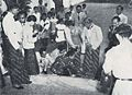 Javanese marriage, feet of bride and groom being washed, Wedding Ceremonials, p39.jpg