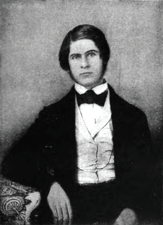 Jay Cooke - Jay Cooke, ca. 1839-40