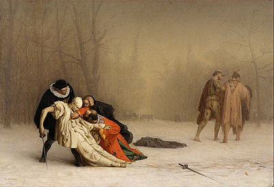 Jean-Léon Gérôme - The Duel After the Masquerade - Google Art Project.jpg