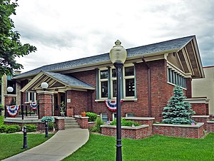 Claude and Starck - Public Library, Jefferson, Wisconsin