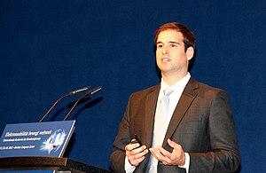 J. B. Straubel - Jeffrey B. Straubel at the German Electromobility Summit 2013 in Berlin