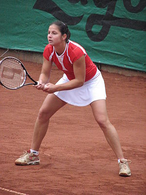 Jelena Kostanić Tošić - Image: Jelena Kostanic Tosic Allianz Cup 1
