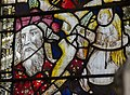 Jesse & Angel, east window Margaretting (13220971653).jpg