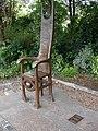 Jester's Chair - Dermot Morgan - geograph.org.uk - 312454.jpg