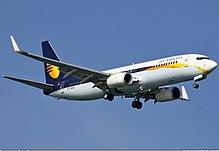 Un Boeing 737-800 di Jet Airways