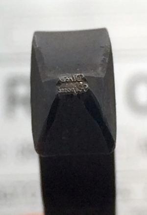 Hallmark - Jewelry hallmark: Dirce Repossi