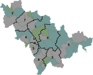 Jilin - Image: Jilin prfc map
